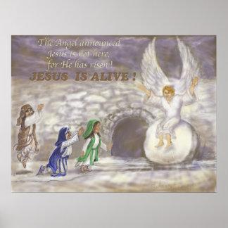 Jesús es poster vivo