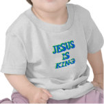 Jesús es rey camisetas