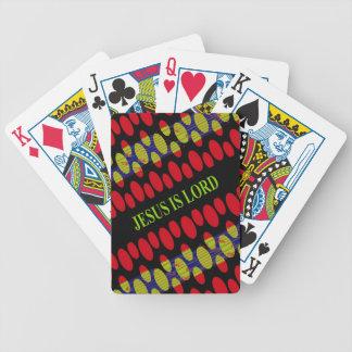 Jesús es señor barajas de cartas