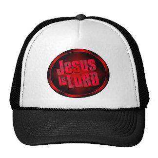 Jesús es señor gorras