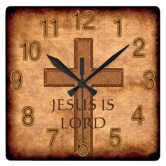 Jesús es señor o SUS relojes del cristiano del