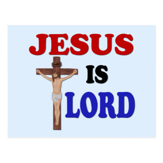JESÚS ES SEÑOR POSTAL