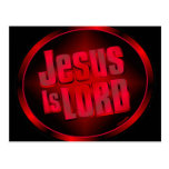Jesús es señor postales
