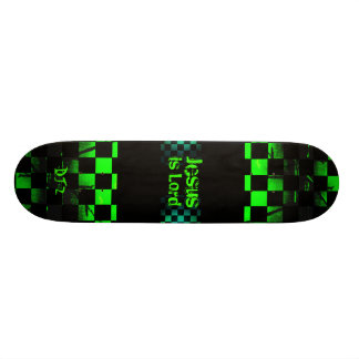 Jesús es señor Skateboard Patineta Personalizada