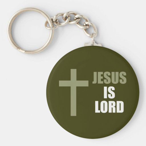 Jesús es señor y salvador y la luz llavero
