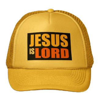 Jesús es señor YO Gorros Bordados