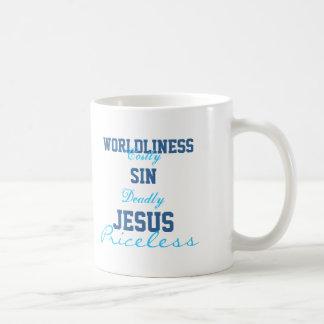 Jesús es taza inestimable