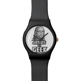 Jesús es un friki reloj de mano