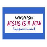 Jesús es un judío tarjeta postal