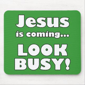 Jesús está viniendo… tapete de raton