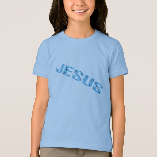 Jesús-estrella-azul Playera