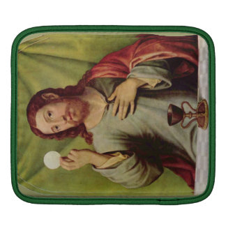 Jesus eucharist laptop sleeve