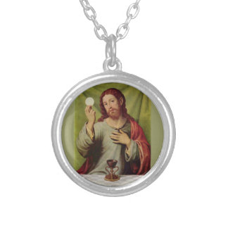 Jesus eucharist necklace
