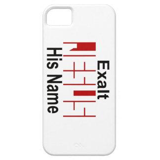 Jesús: Exalte su nombre iPhone 5 Case-Mate Protector