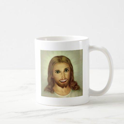 Jesús excesivamente atado - taza de café