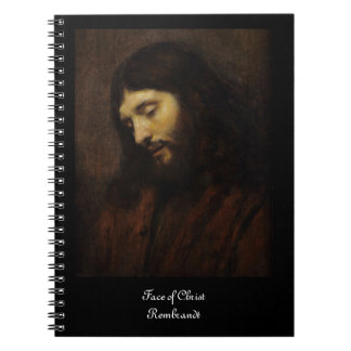 Jesus Face Side View Note Book