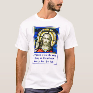 Jesus Fascism Is Not Christianity T-Shirt