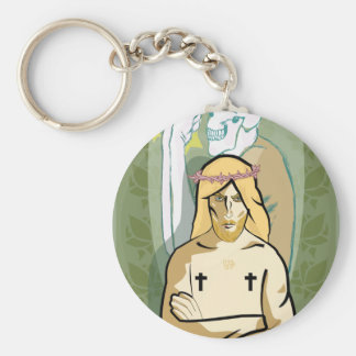 Jesus FiGhT Keychain