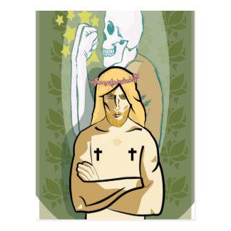 Jesus FiGhT Postcard