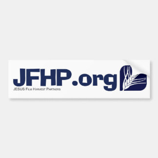 JESUS Film Harvest Partners Bumper Sticker