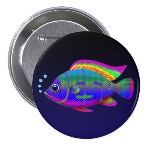 Jesus Fish Pins