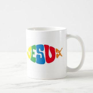 Jesus fish coffee mug