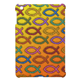 JESUS FISH DESIGN iPad MINI CASE