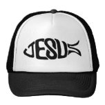 Jesus Fish Mesh Hat