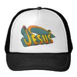 Jesus Fish Nail Trucker Hat