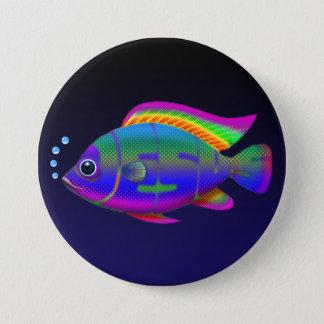 Jesus Fish Pinback Button