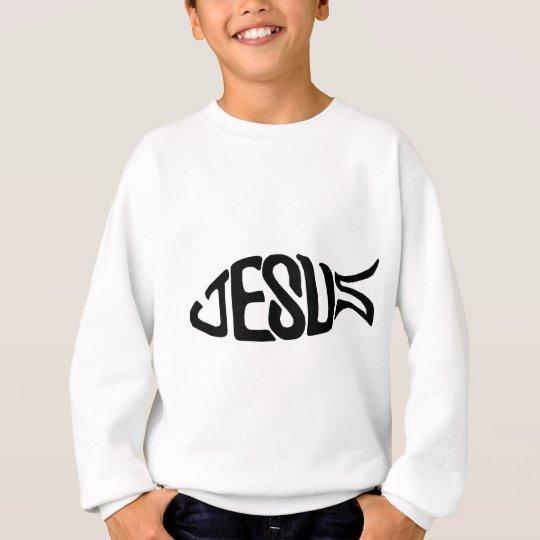 Jesus Fish Sweatshirt