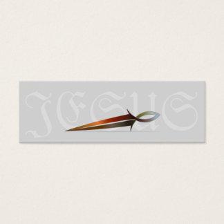 Jesus Fish Sword - Scripture Cards