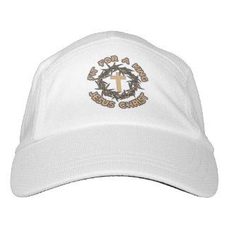 Jesus Fit for a King Headsweats Hat
