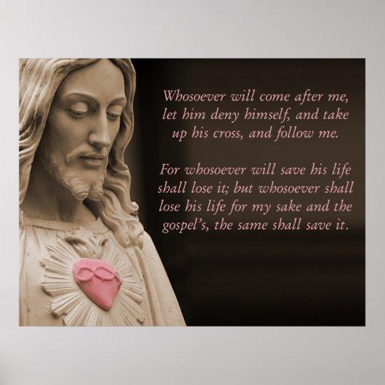Jesus Follow Me Poster