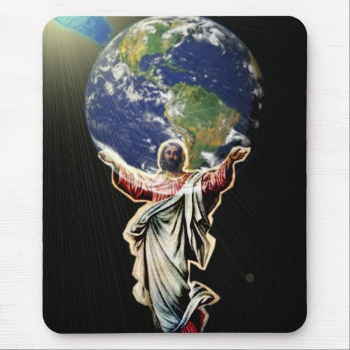 Jesus For The World Mousepads
