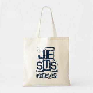 Jesus Forever Tote Bag