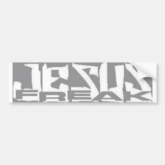 jesus freak bumper sticker