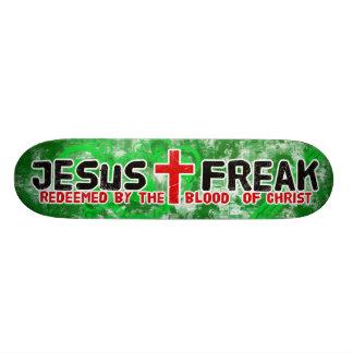Jesus Freak Green Skateboard Deck