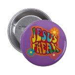 Jesus Freak Pinback Button