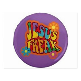 Jesus Freak Postcard