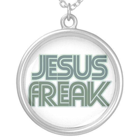 Jesus Freak Silver Plated Necklace