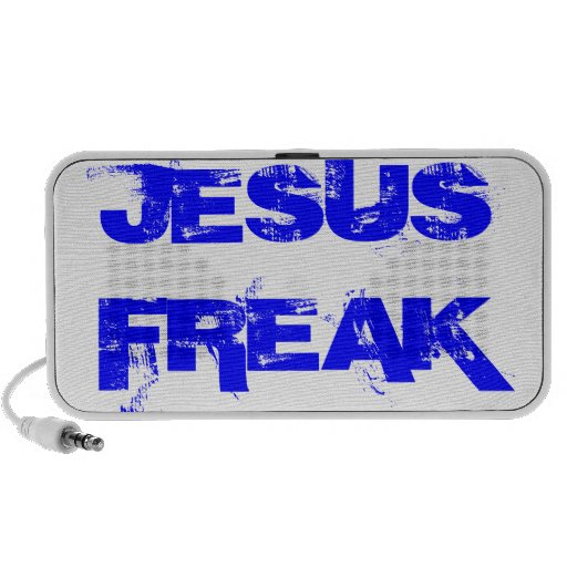 Jesus Freak speaker for ipods and music players