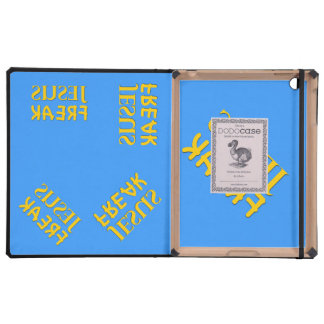 Jesus Freak (SUSEJ KAERF) iPad Folio Cases