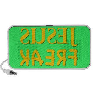 Jesus Freak (SUSEJ KAERF) iPod Speaker