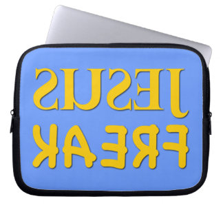 Jesus Freak (SUSEJ KAERF) Laptop Computer Sleeves