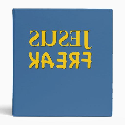 Jesus Freak (SUSEJ KAERF) Vinyl Binders