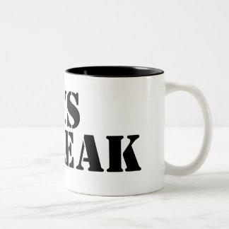 Jesus Freak Two-Tone Coffee Mug