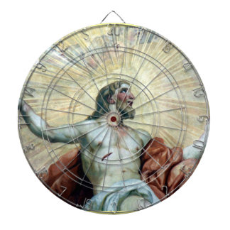 jesus fresco dartboards