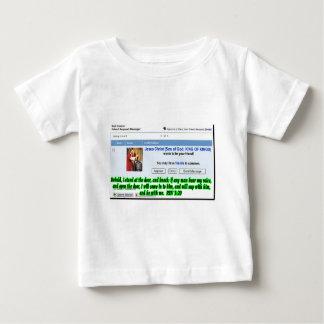 Jesus Friend Request Baby T-Shirt