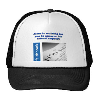 Jesus Friend Request Trucker Hat